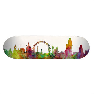 London England Skyline Skate Decks