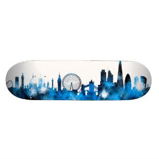 London England Skyline Custom Skate Board