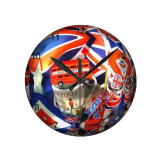 London England Tourist Attractions Wallclocks
