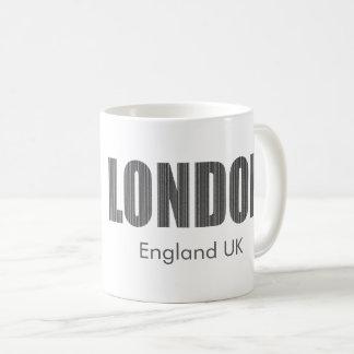 London, England UK (typography) Coffee Mug