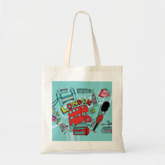 London ~ England United Kingdom Travel Art Tote Bag