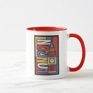 London, England | Vibrant Handrawn Design Mug
