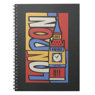 London, England | Vibrant Handrawn Design Notebooks