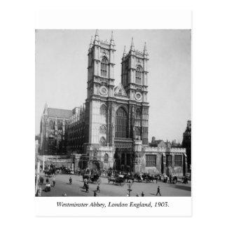 London England, Westminster Abbey 1903 Postcard