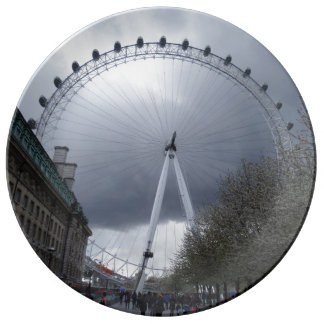 "London Eye  10.75"" Decorative Porcelain Plate"