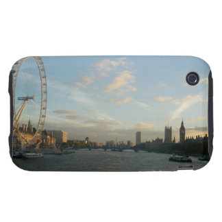 London Eye and Parliament Tough iPhone 3 Cases