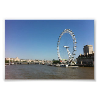 London Eye Art Photo