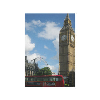 London Eye & Big Ben Canvas Print