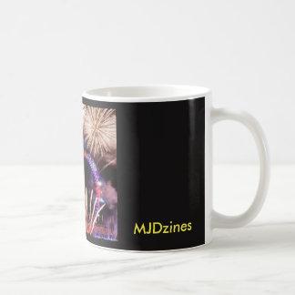 London Eye Black Coffee Mug