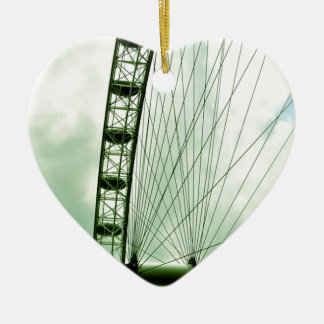 London Eye Ceramic Ornament