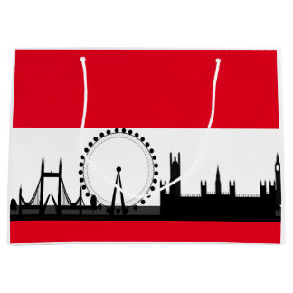 London Eye City Ferris Wheel England Gift Bag