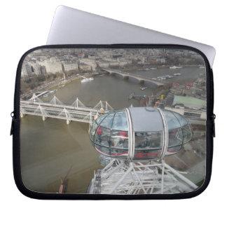 London Eye City ViewNeoprene Laptop Sleeve 10 inch