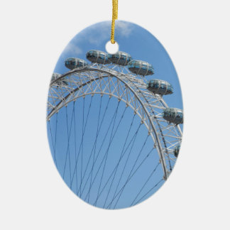London eye ferris wheel ceramic ornament