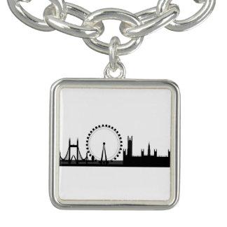London Eye Ferris Wheel London Charm Bracelet
