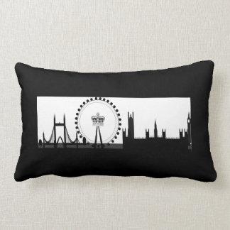 London Eye Ferris Wheel Skyline London Pillow