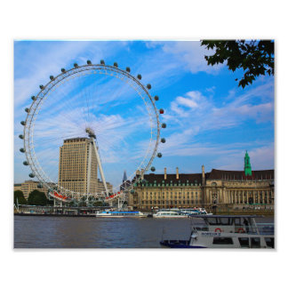 London Eye in London UK Photographic Print