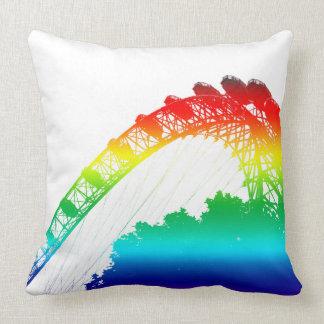 London Eye Rainbow Cushion