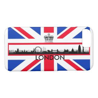 London Eye Skyline Union Jack Flag iPhone 7 Case
