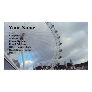 London Eye Up Close Pack Of Standard Business Cards