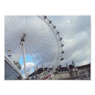 London Eye Up Close Photographic Print