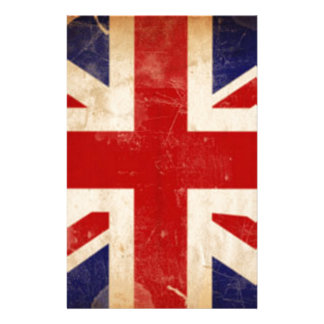 LONDON FLAG PERSONALIZED STATIONERY