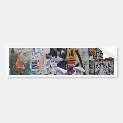 London Graffiti Bumper Sticker