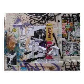 London Graffiti Postcard
