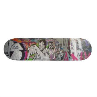 London graffiti skateboard
