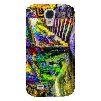 London Graffiti Van Gogh Galaxy S4 Cover