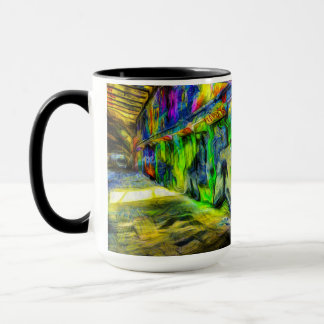 London Graffiti Van Gogh Mug