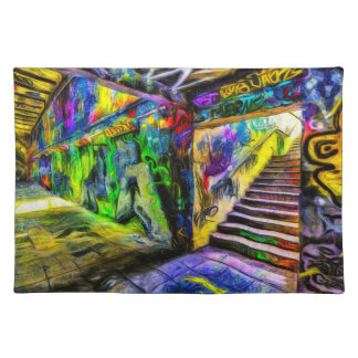 London Graffiti Van Gogh Placemat