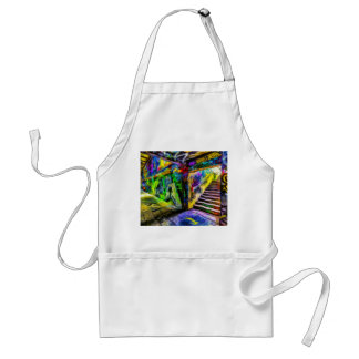 London Graffiti Van Gogh Standard Apron