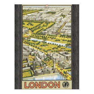 London Gwr, Vintage Post Card