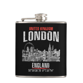 London Hip Flask