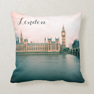 London, Houses of Parliament, travel pillow