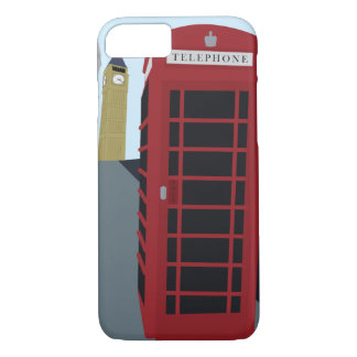 London Icons Illustrated iPhone 7 Case