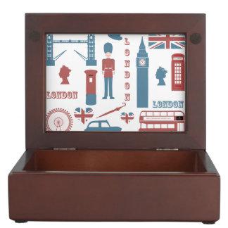 London Icons Retro Love Souvenir Keepsake Box