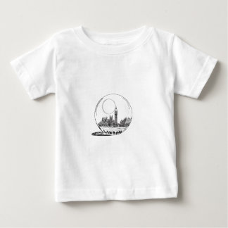 London in a glass ball . baby T-Shirt