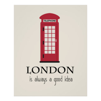 London posters from Zazzle