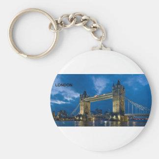 London--[kan.k].jpg Key Ring