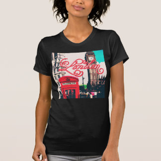 London Landmark Vintage Photo Tees