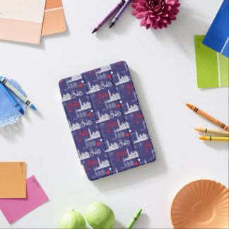 London Landmarks Pattern iPad Mini Cover