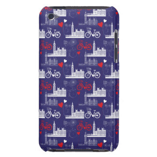 London Landmarks Pattern iPod Case-Mate Case