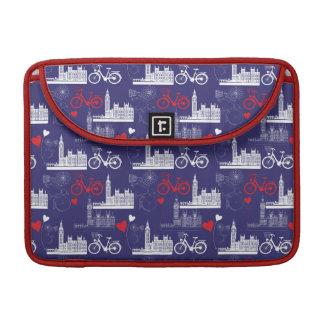 London Landmarks Pattern Sleeve For MacBooks