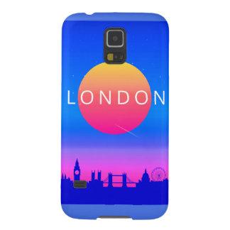 London Landmarks Travel Poster Galaxy S5 Case