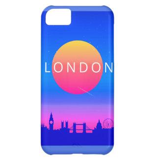 London Landmarks Travel Poster iPhone 5C Case