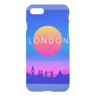 London Landmarks Travel Poster iPhone 8/7 Case