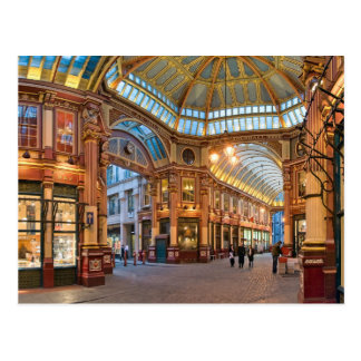 London,  Leadenhall Market, Financial area Postcard