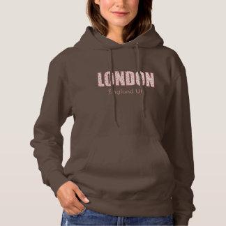 London (London Pride flower pattern, typography) Hoodie