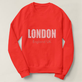 London (London Pride flower pattern, typography) Sweatshirt